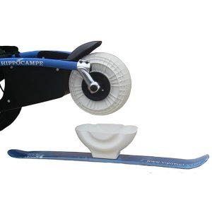 Skiaufsatz – für das Vorderrad